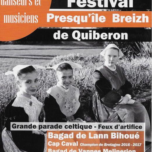 Parade Celte Quiberon 2017